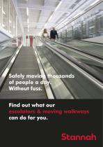 Safely moving thousands of people a day. Without fuss. Find out what our escalators & moving walkways can do for you.
