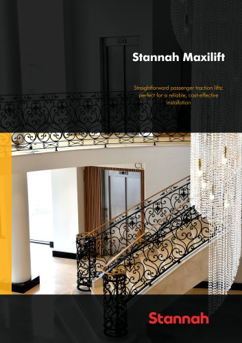 Stannah Maxilift - Straightforward passenger traction lifts: perfect for a reliable, cost-effective installation