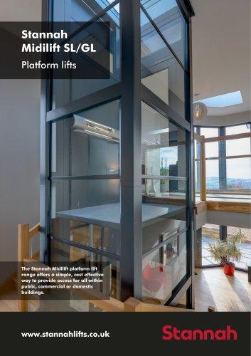 Stannah Midilift SL/GL Platform lifts
