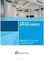 Advance Concrete Broschüre