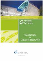 Was ist neu in Advance Steel 2013