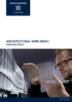 Architectural Wire Mesh. Weaving Ideas.