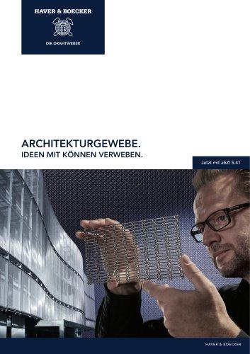 HAVER Architekturgewebe. Ideen mit Können verweben.
