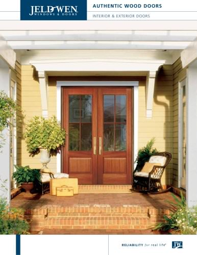 Authentic Wood Exterior Doors