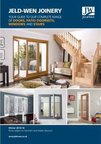Doors, Windows and Stairs Trade Brochure