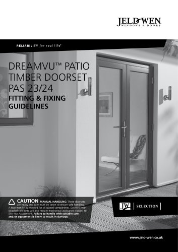 DREAMVU? PATIO TIMBER doorse
