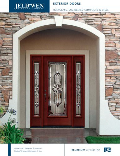 Fiberglass and Steel Exterior Doors