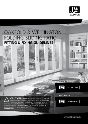 OAKFOLD & WELLINGTON FOLDING SLIDING PATIO