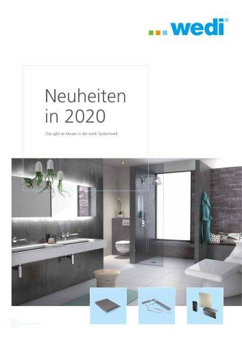 Neuheiten in 2020