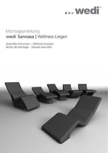 wedi Sanoasa | Wellness-Liegen Montageanleitung