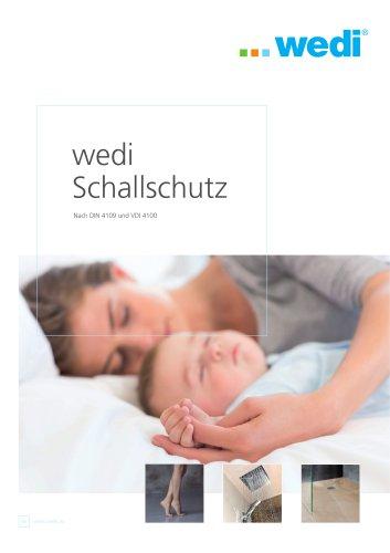 wedi Schallschutz