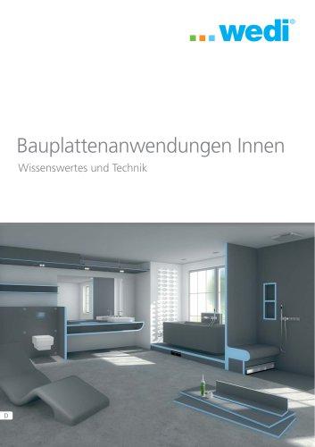 Wissenswertes und Technik - Bauplattenanwendungen Innen