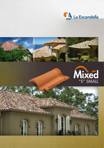 SMALL MIXED ROOF TILE