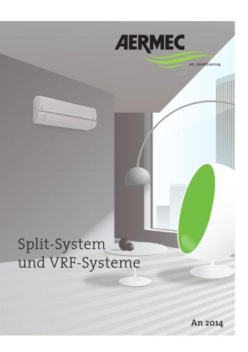 Split System und VRF systeme 2014