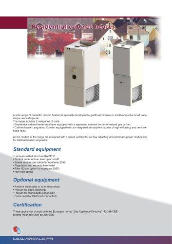 Heating cabinet comfort
