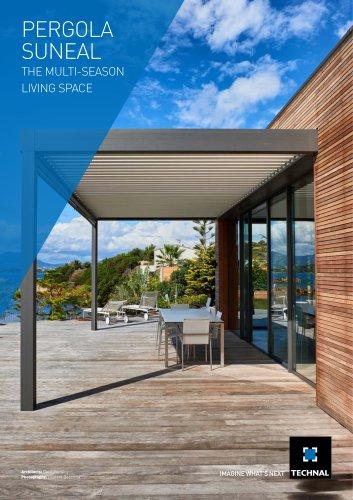 PERGOLA SUNEAL - Multi season living space