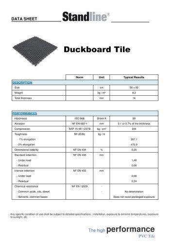 Duckboard Tile