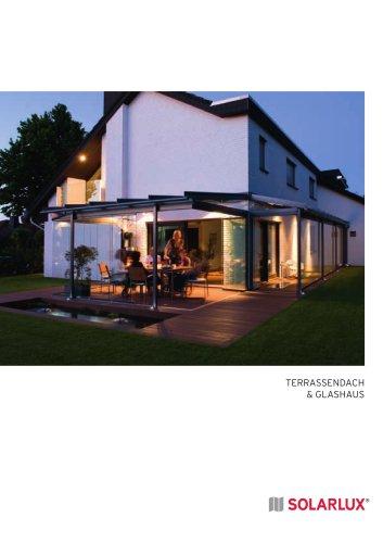 Terrassendach & Glashaus
