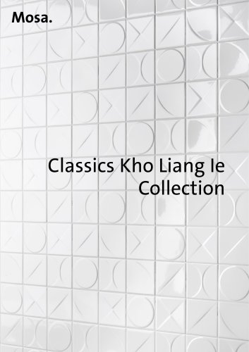 Mosa Classics Kho Liang Ie Collection
