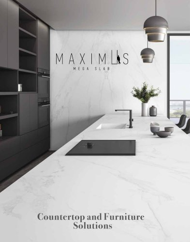 Maximus Mega Slab Countertop Solutions 2021