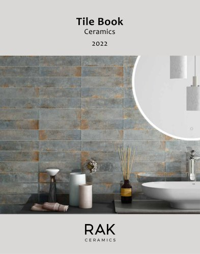 Tile Book Ceramic 2021