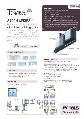 Touareg® TH aluminium sliding doors