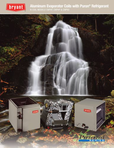 CNPVP, CNPHP & CNPVU N-Coil Aluminum Evaporator Coils with Puron Refrigerant consumer