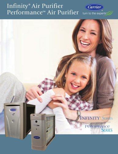 Infinity air purifier, performance air purifier