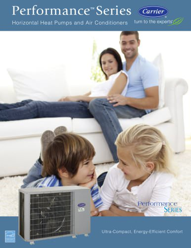 Performance Series Horizontal Heat Pumps and Air Conditioners