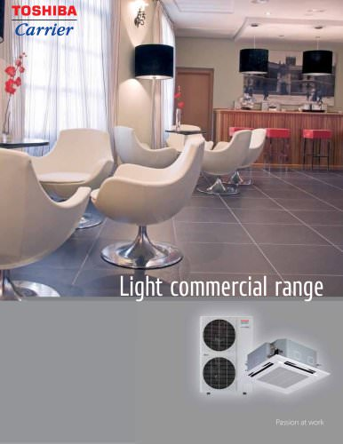 Toshiba-Carrier Light Commercial Brochure
