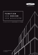 FUNKTION UND DESIGN VON NOVOFERM - INFORMATIONEN FÜR ARCHITEKTEN UND PLANER