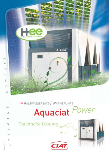 AQUACIAT POWER  ILD / ILDH /ILDC - ND0740E