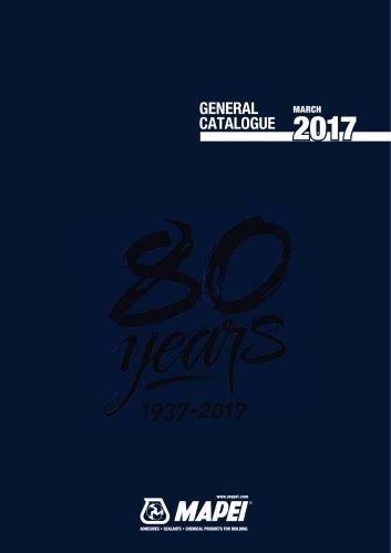 General catalogue 2017
