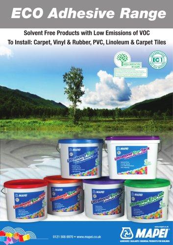 Leaflet - ECO Adhesives - Mapei UK - ITA