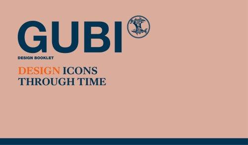 Gubi Design Booklet