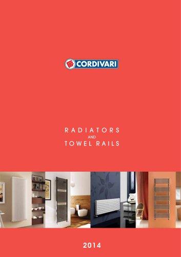 CATALOGUE RADIATORS AND TOWEL RAILS