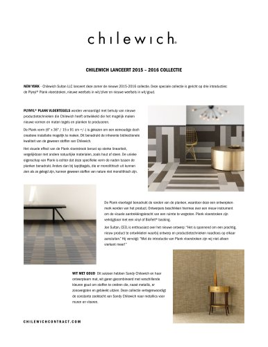 Chilewich- Contract 2015-2016