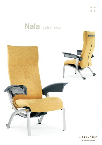 Brandrud Nala Patient Chair Product Sheet