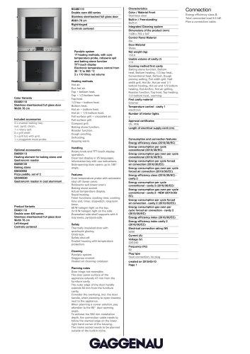 BX 480/BX 481