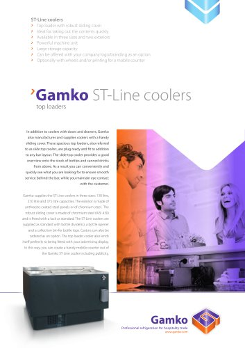 Gamko ST-Line coolers