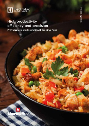 Electrolux Professional ProThermetic Pressure Braising pans