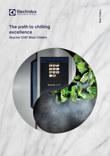 Electrolux Professional SkyChillS Blast Chillers