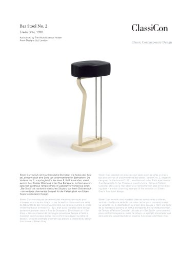 Bar Stool No. 2 1928