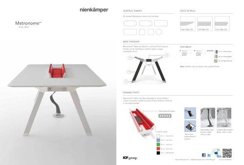 Metronome Tables Cut Sheet