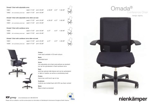 Omada? Chairs Direct Mailer
