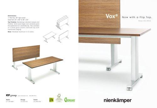 Vox® FlipTop? Direct Mailer