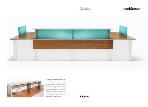 Vox® Reception Desk