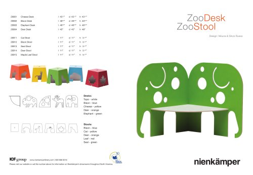 Zoo Desks & Stools