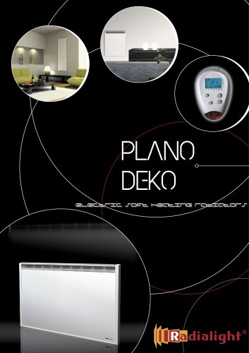 Plano and Deko: How do they work? Tips to save energy