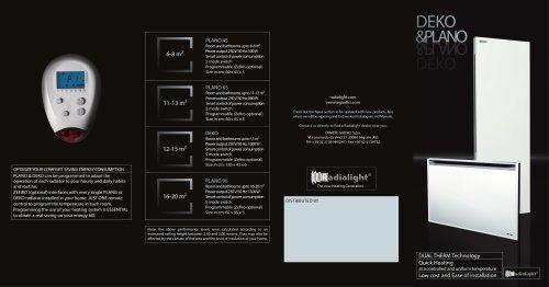 PLANO & DEKO Commercial Leaflet